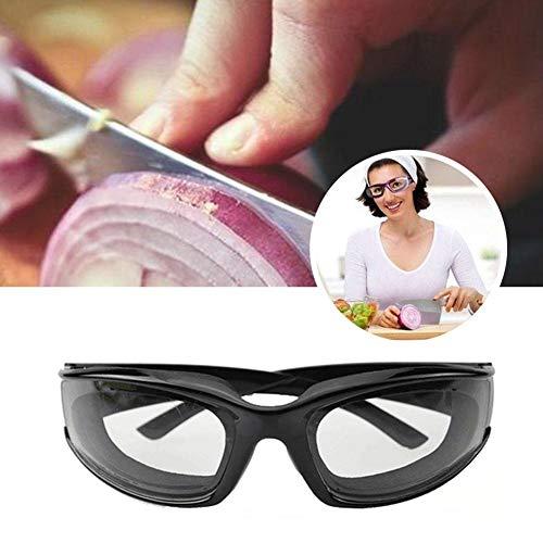 LIANA IRWIN - Gafas protectoras especiales para protección de la cocina, adecuadas para cortar cebollas y aceites, para evitar la protección de los ojos, Beige