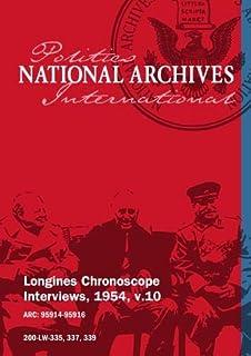 Longines Chronoscope Interviews, 1954, v.10: Percy Spender, Samuel Brownell