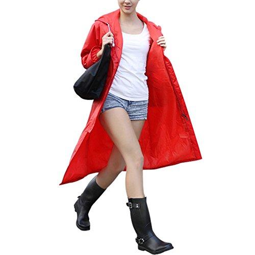 ZZHF Yuyi Poncho Trench Coat Lungo Impermeabile per Adulti Escursionismo Impermeabile Impermeabile 7 Colori Dimensioni opzionali Opzionale