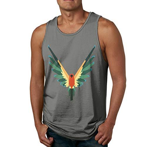 Abigails Home LoganPaul Chemises sans Manches pour Hommes débardeurs t-Shirt de Sport de Basket-Ball t-Shirt Fitness en Plein air(XXL,bruyère Profonde)