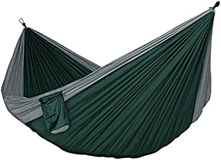 Buckeye Outdoor Gear - PREMIUM Camping Hammock COMPLETE KIT with FREE Straps and Carabiners, High Strength Nylon 106