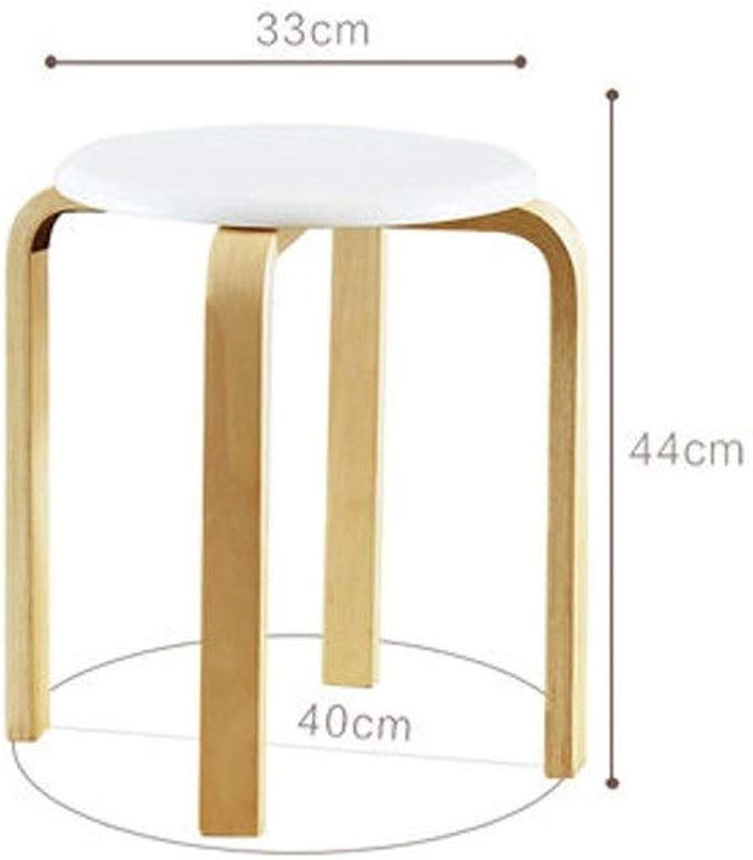 European Chair Solid Wood Stool, Fashion Creative Stool Stool, Small Stool