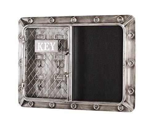 HAKU Möbel Schlüsselkasten, Metall, 7 x 60 x 46 cm