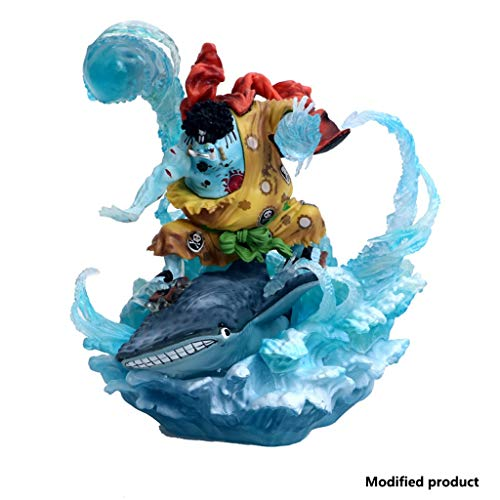 Siyushop One Piece Portrait of Pirates: Whale Shark Man Jinbei PVC Figure GK Figura De Acción For Niños, Adultos Y Fanáticos del Anime - Alto 8.2 Pulgadas