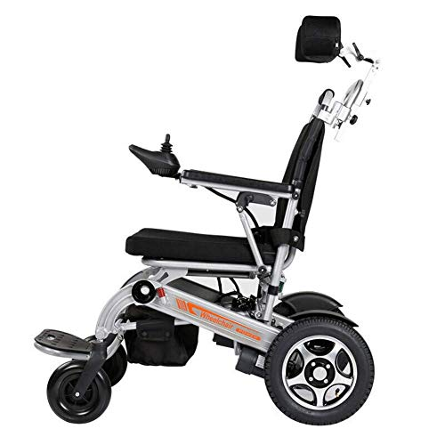 FTFTO Home Accessories Elderly Disabled Lightweight Electric Wheelchair Fold Folding Electric Wheelchair Medical Mobility Aid Power Wheelchair Heavy Duty