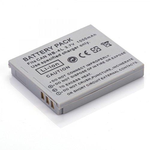 Rusty Bob - NB-4L Canon Digital Ixus IS,82 IS,100 IS,110 IS,115 HS,120 IS,130,220 HS,230 HS,i7,SD40,SD600,SD750,SD1000,SD1100 IS, TX1 - Akku