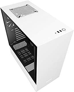 NZXT H511 Tempered Glass Mid-Tower ATX Case - White
