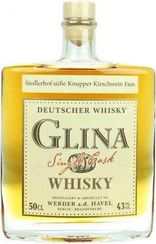 Glina Whisky 2016 Knupper Kirschwein Fass 0,5l