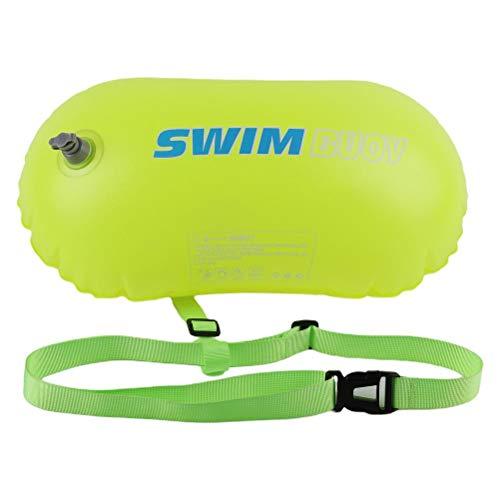 teyiwei PVC Natación Boya de Seguridad Boya Doble Airbags Remolque Natación Boya Inflable Boya Bolsa Deportes de Agua Bolsa de Seguridad