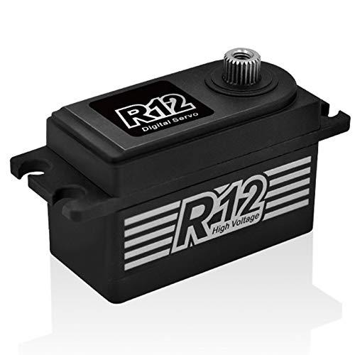 Nrpfell Power HD R12 12 KG High Torque Brushless Metal Gear Servo...