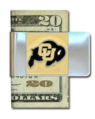 NCAA Siskiyou Sports Herren-Geldklammer Colorado Buffaloes, Stahl, Einheitsgröße, Teamfarbe