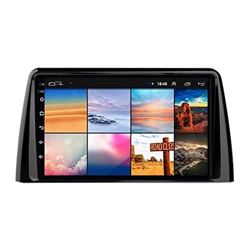Android 8 Pulgadas 8.1 Navegación Automática Stereo 2.5D Pantalla Táctil HD para KIA KX3 2020, FM/Bluetooth/WiFi/SWC/Enlace del Espejo/Cámara De Visión Trasera,4 core-4G+WiFi: 4+64G
