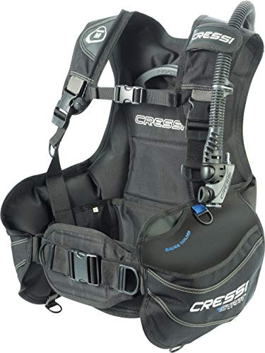 Cressi Start, Black/Blue, XL
