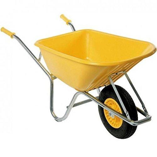 Altrad 0000356 multifunctionele kruiwagen, onverwoestbaar, geel