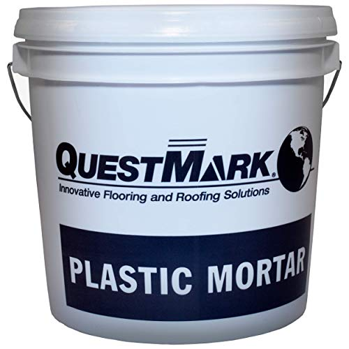 QuestMark 2110 High Traffic Epoxy Concrete Floor Patch and Resurfacer, 2 Gallon, Natural - Three Component 100% Solids Mortar with High Impact and Abrasion Resistance