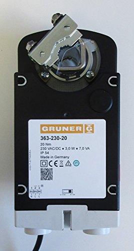 GRUNER 363-230-20 230V 2-/3 Punkt Klappenantrieb 20Nm