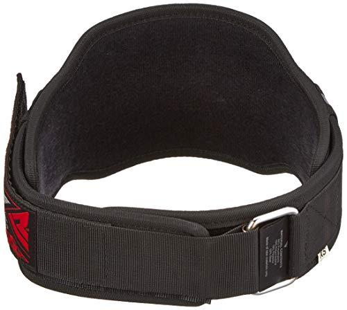 RDX 8D Gewichthebergürtel Belts, Gray, XS