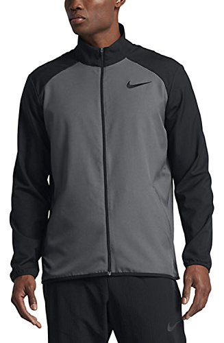 Nike Herren Team Training Jacket Trainingsjacke, Dark Grey/Black, L