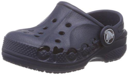 Crocs Baya Kids Zoccoli e sabot Unisex – Bambini, Blu (Navy), 19-21 EU