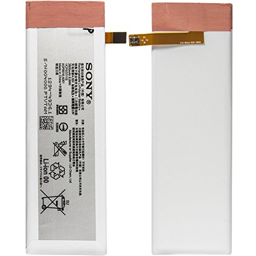 Sony AGPB016-A001 - Batteria originale ai polimeri di litio, 2600 mAh, per Sony Xperia M5, M5 Dual - 1294-4936, bulk