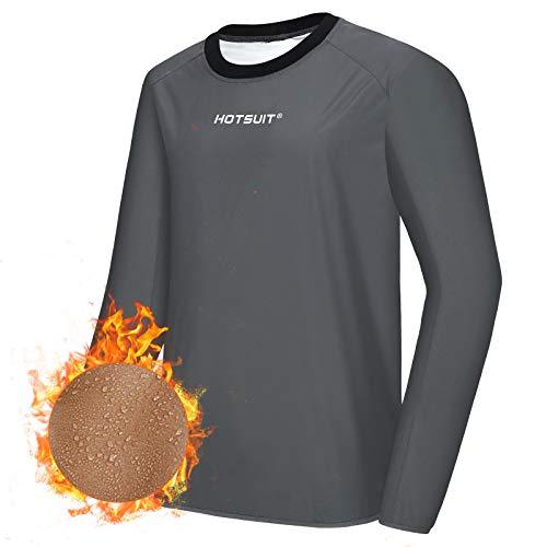 HOTSUIT Costume Sauna Hommes Veste de survêtement Vêtements de Sudation Sweat Suit