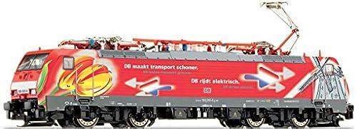 TT Einmalauflage E-Lok E189 065  Tulpen-Dekor