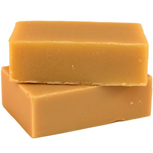 #1 Best Quality All Natural Handmade Goat Milk Soap (2 Bars) - Raw Organic Moisturizing Soap for Acne, Dry Skin, Eczema, Psoriasis, Rashes, Burns, Sensitive Skin (Unscented) - Incredible By Nature