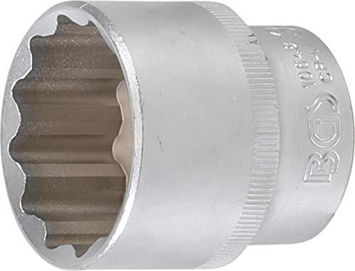 BGS 10648 | Steckschlüssel-Einsatz Zwölfkant | 12,5 mm (1/2