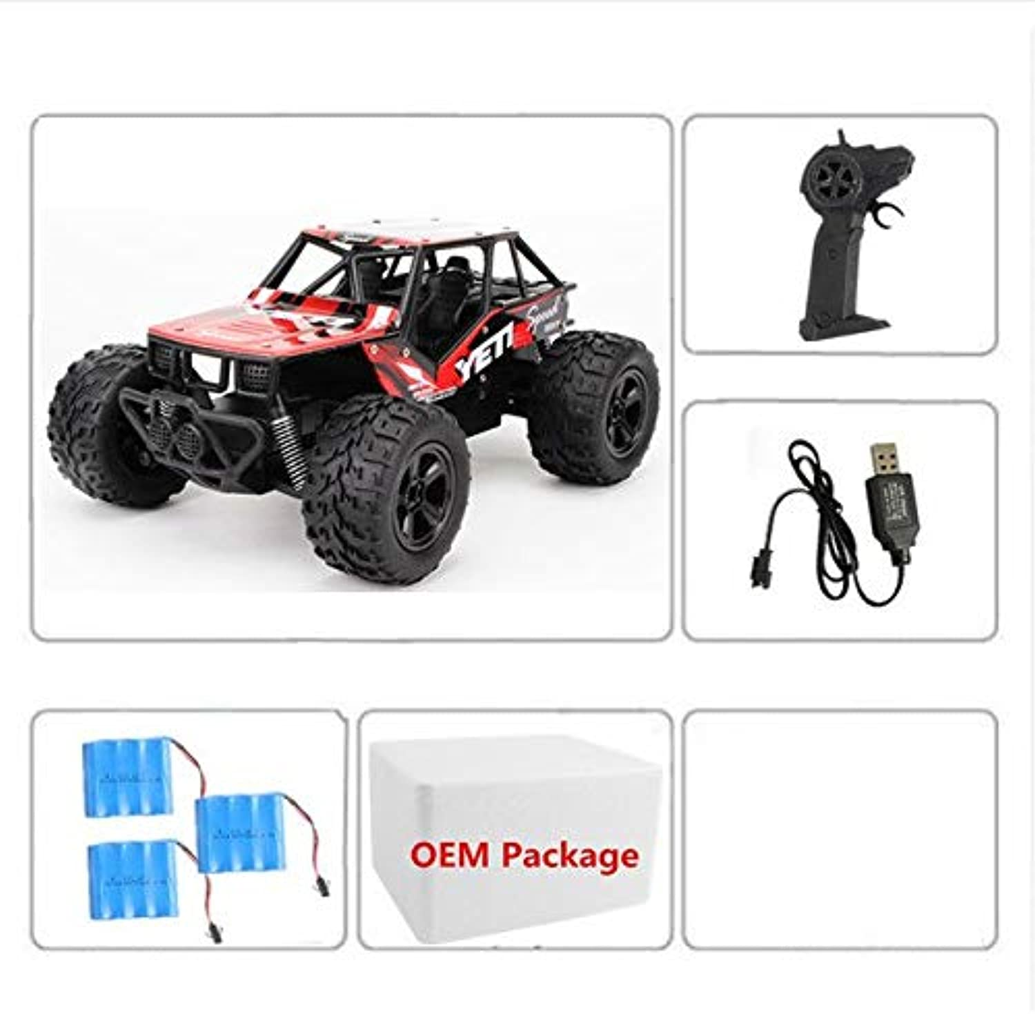 Generic RC Car Remote Control Car 1 20 RC Military Truck Mini OffRoad Car with Light RTR 4WD DIY Car Kit 1 20 RC Toy Gift VS WPL B1 9