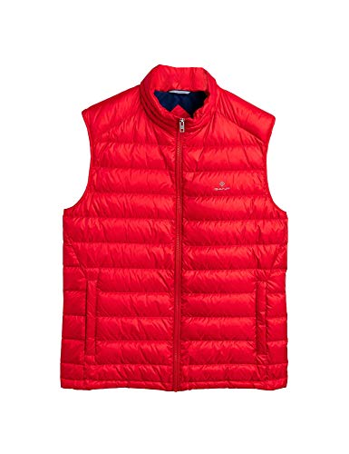 GANT D1. The Light DOWN Gilet, rot(brightred), Gr. XL