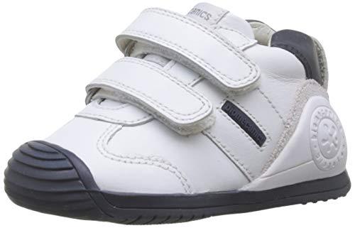 Biomecanics 151157-1, Zapatillas de Estar por casa Unisex niños, Blanco (Blanco Y Azul (Sauvage) F), 22 EU