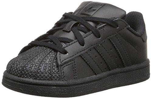 adidas Originals Superstar C Basketball Shoe (Little Kid),Black/Black/Black,11 M US Little Kid