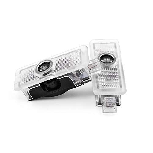 xy Lámparas de Logotipo de Puerta de Coche LED Proyecto láser Decoración Fantasma Fantasma Luces de Sombra para Mercedes Benz AMG CLA CLA CLS E Clase C218 W218 A207 C207 C117