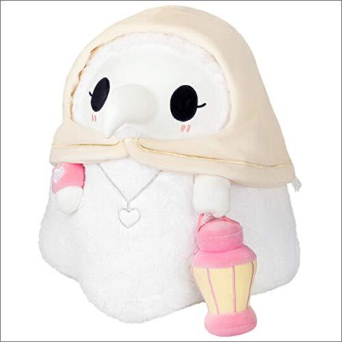 kylew Plague Doctor Plüsch-Spielzeug, quetschbar, leuchtendes Plüsch, Halloween-Mini-Plague-Doktor-Puppe, aus einzigartigem, lichtabsorbierendem Tuch, Geschenk für Freundin