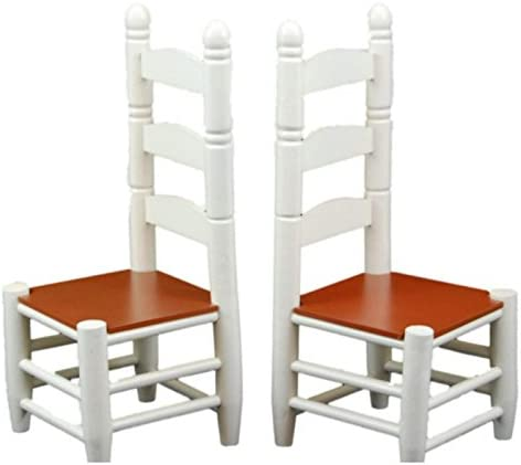 The Queen s Treasures Set of 2 Farmhouse Chairs Fits 18 inch American Girl Doll Furniture Doll product image