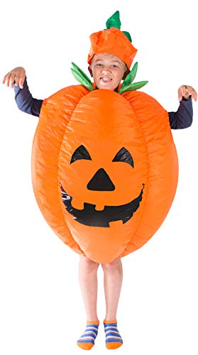 Bodysocks® Aufblasbares Kürbis Kostüm für Kinder