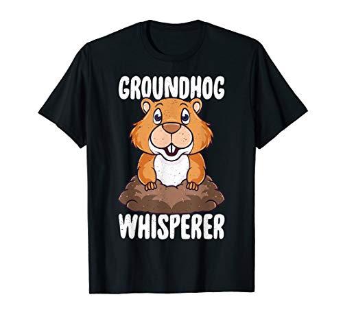 Murmeltier Whisperer Kawaii Murmeltier Monax Waldmurmeltier T-Shirt