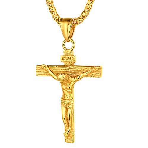 Crucifijo Dorado