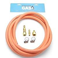 Huddersfield Gas 3M External Bbq Point Universal Quick Release Bbq Kit Fits 5/8 Unf & 1/4 Bsp Lht