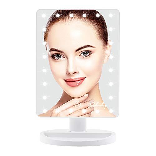 Espelho LED Touch Screen para Maquiagem