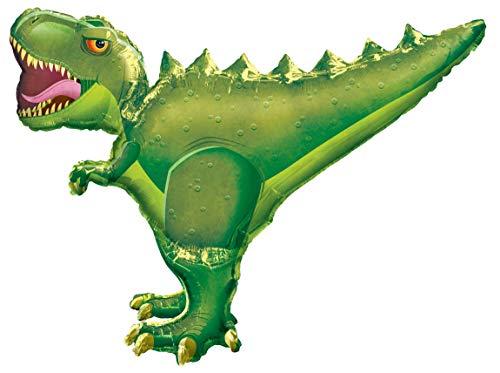 amscan 3225101 Folienballon Ultra Shape T-Rex, Grün