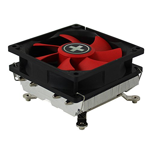 Xilence Performance C Serie | CPU Kühler | XC040 | Top Flow | Heatpipe | AMD | rot/schwarz