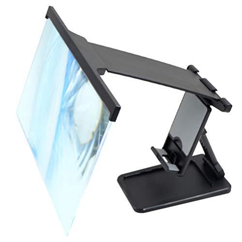 TEHAUX Ampliador de Tela Do Telefone Expansores de Tela Tela Do Telefone Móvel Amplificador Com Suporte Dobrável Titular Celular Projetor Ampliada Anti- Blue Ray para a Mesa de Casa