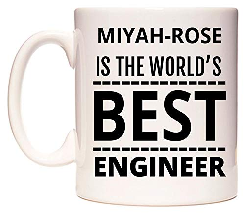 MIYAH-ROSE Is The World's BEST Engineer Taza por WeDoMugs®