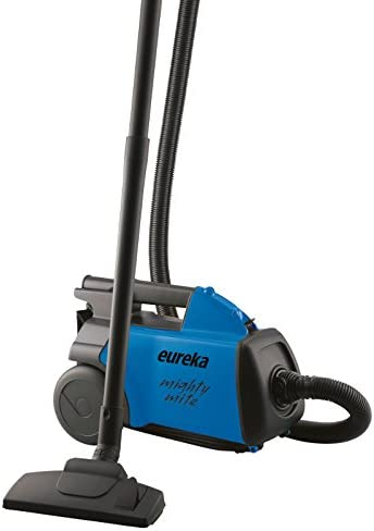 Eureka Mighty Mite Bagged Canister Vacuum Cleaner, 3670H w/ 2 Bags, 3670h-Blue