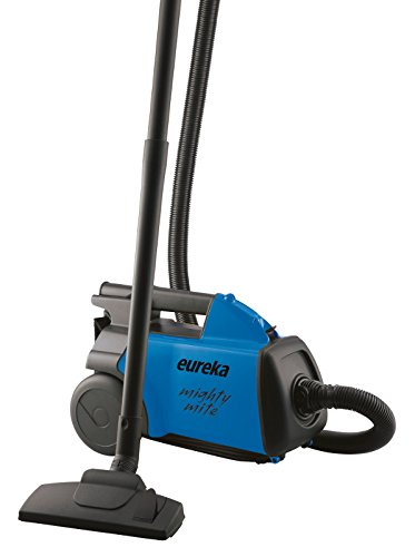 Eureka Mighty Mite Bagged Canister Vacuum Cleaner, Pet, 3670h-blue