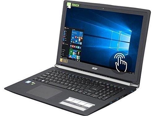 Acer Aspire V Nitro VN7 15.6' FHD Touchscreen Intel Core i7-6500U (2.50 GHz) NVIDIA GeForce GTX 950M 16 GB Memory 256 GB SSD 1 TB HDD Windows 10 Home 64-Bit Gaming Laptop (Renewed)