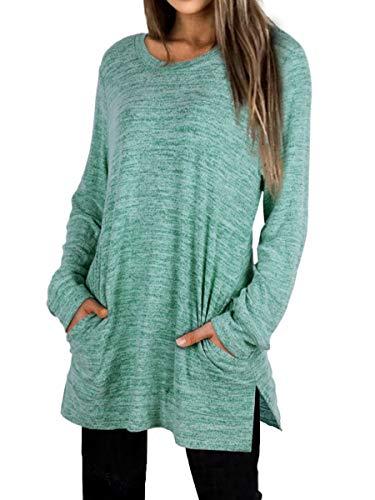 XIEERDUO Comfy Oversized Sweatshirt…