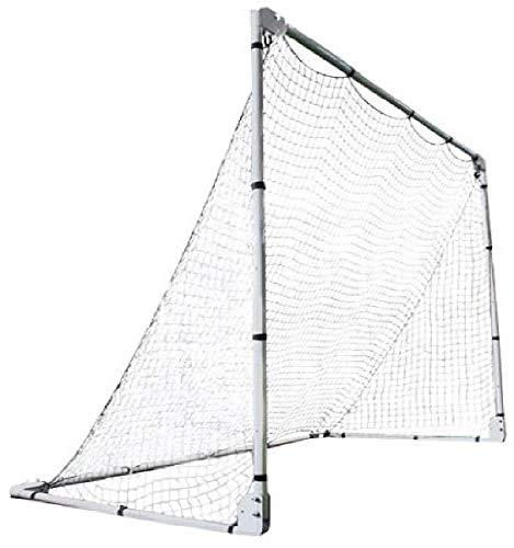 LIFETIME 90046 Verstellbares Fußballtor, Silber, 2.1 x 1.5 m