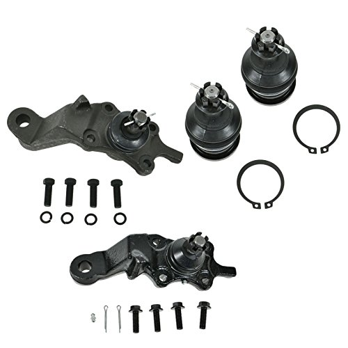 4 Piece Kit Upper Lower Ball Joint LH RH Set for Tacoma 4WD 2WD PreRunner